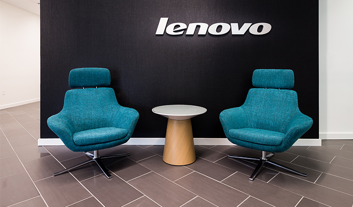 Storr Office Furniture Lenovo Project. Facilities Management Project