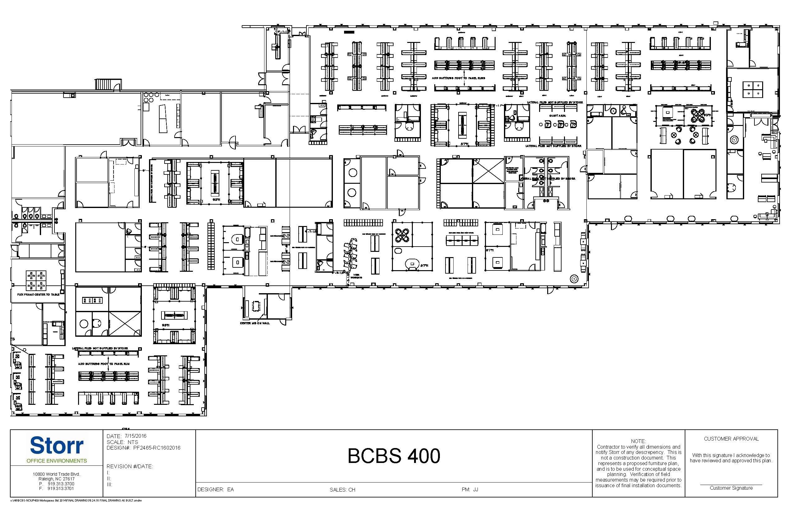BLDG 400 OVERALL PLAN