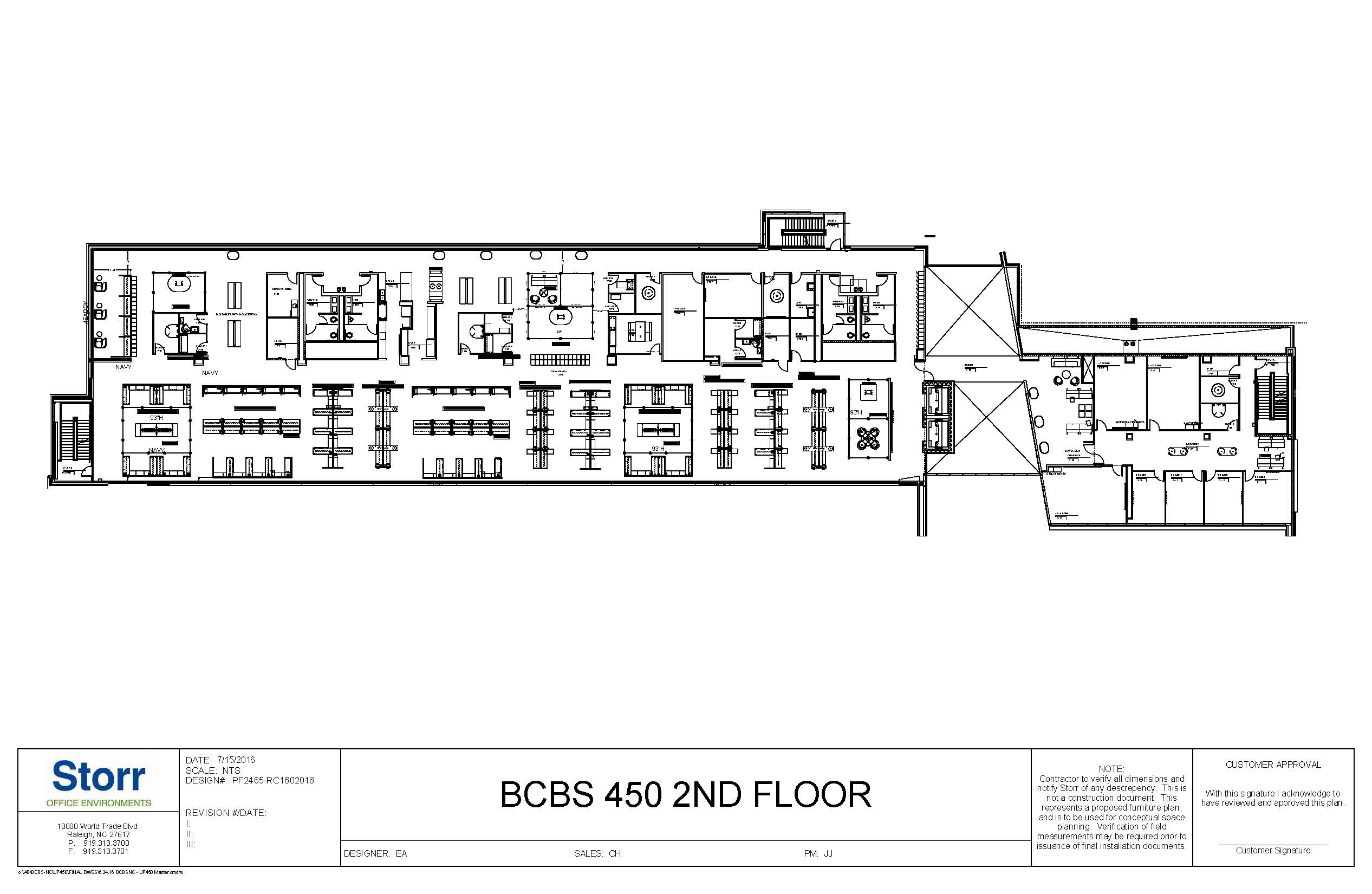 BLDG 450 2ND FLR OVERALL PLAN