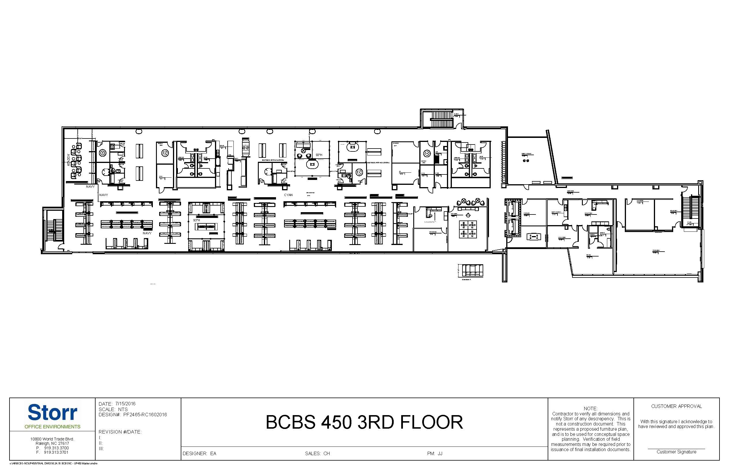 BLDG 450 3RD FLR OVERALL PLAN