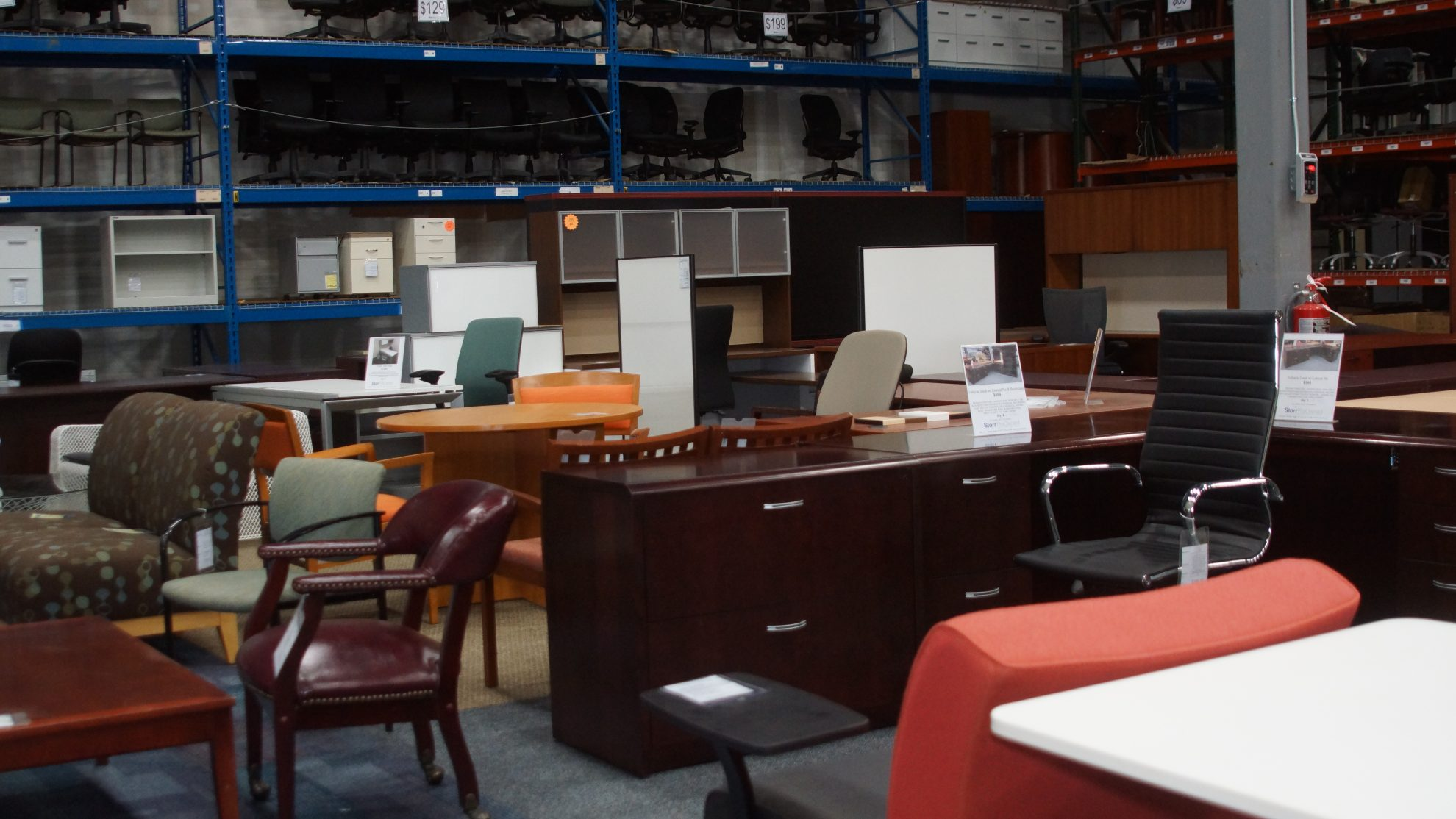 Storr Preowned Office Furniture Outlet